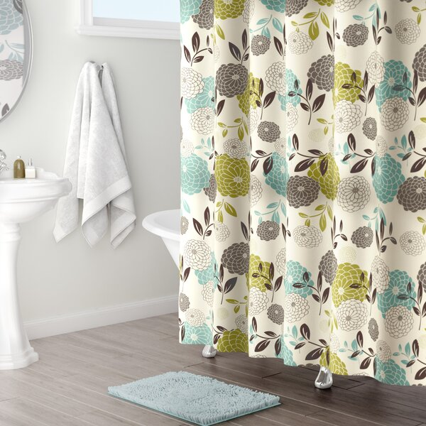 Basswood Shower Curtain by Red Barrel Studio
