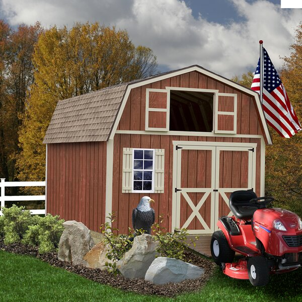 Millcreek Solid Wood Storage Shed by Best Barns