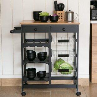 Bardem Kitchen Cart by Gracie Oaks