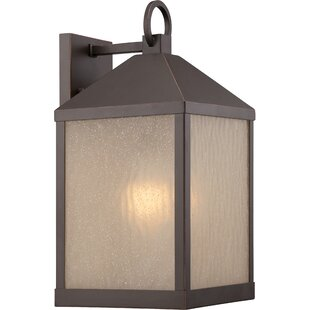 Read Reviews Cedar 1-Light Outdoor Wall Lantern By Loon Peak