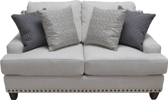 Guerro Stationary Loveseat by Darby Home Co