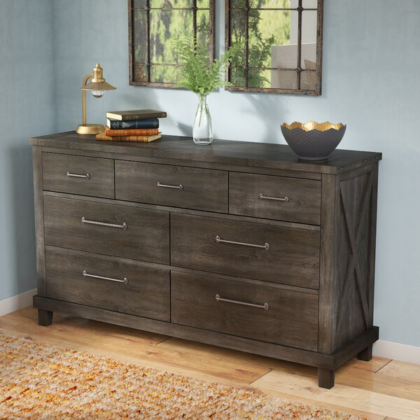 Langsa 7 Drawer Double dresser by Laurel Foundry Modern Farmhouse