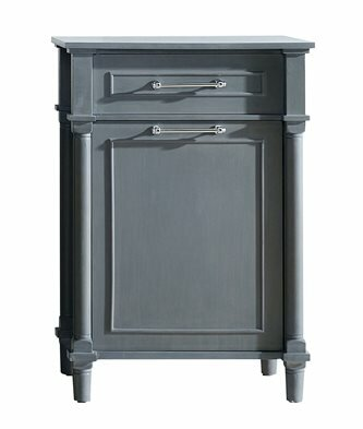 Continental Hamper 1 Drawer Accent Cabinet by Laviva Laviva