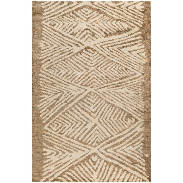 Orinocco Hand-Woven Brown/Beige Area Rug by Jill Rosenwald Home