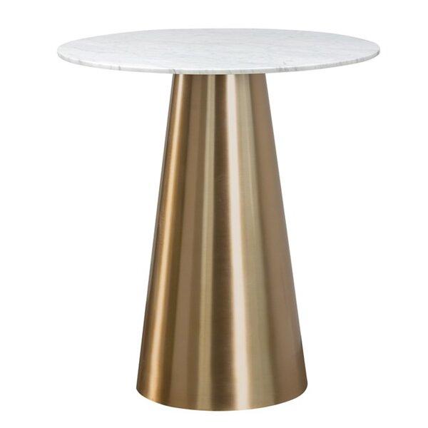 Damon Marble Pub Table by Sunpan Modern