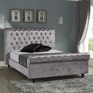 Stella Upholstered Platform Bed