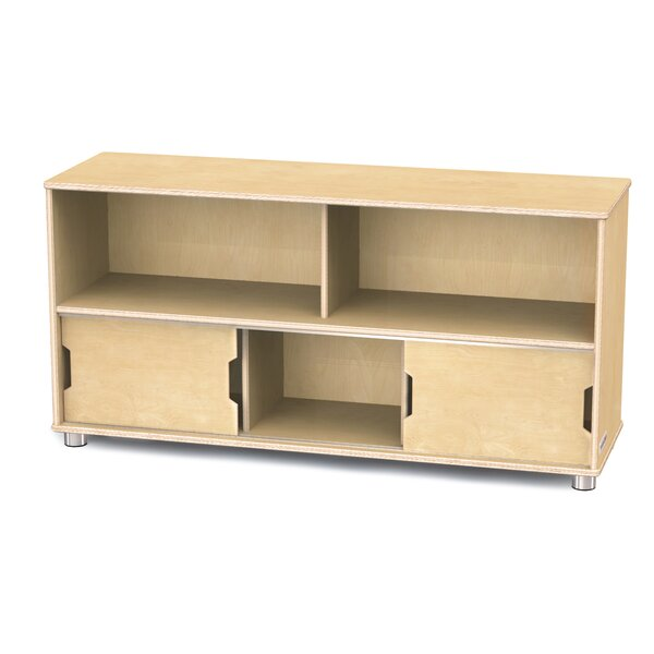 TrueModern 5 Compartment Shelving Unit with Doors by Jonti-Craft