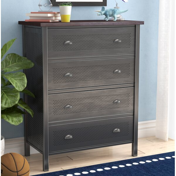 Florence 4 Drawer Chest by Viv + Rae