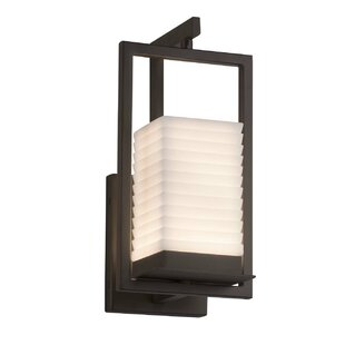 Affordable Salaam LED Outdoor Sconce By World Menagerie