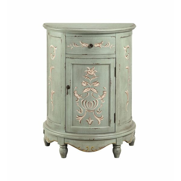 Cloutier 1 Door Accent Cabinet