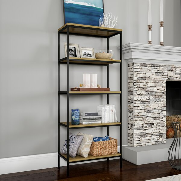 Moneta Etagere Bookcase by Gracie Oaks
