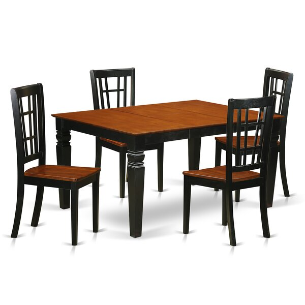 Bellaire 5 Piece Dining Set by Darby Home Co