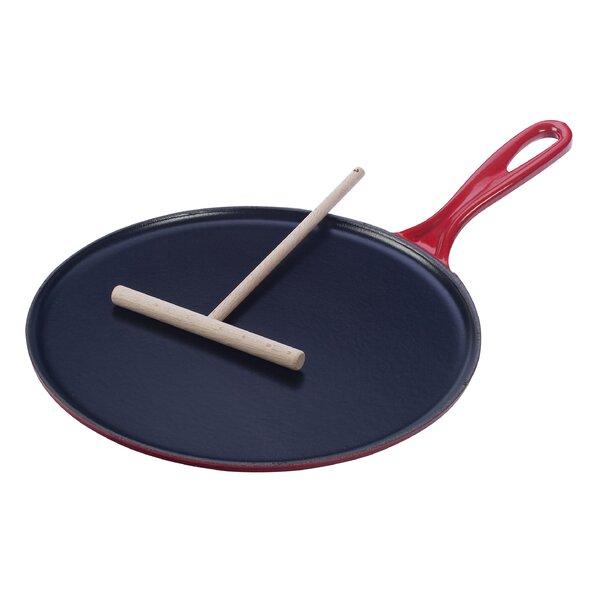 Enameled Cast Iron 10.75 Crepe Pan by Le Creuset