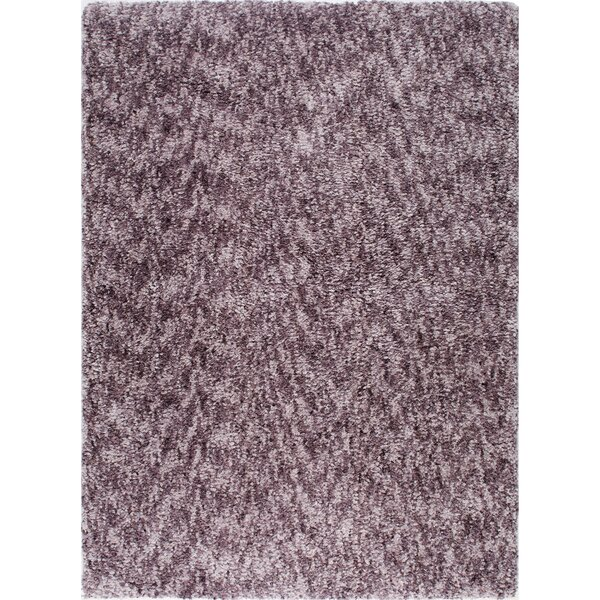 Chelsea Solid Mauve Area Rug by Christian Siriano