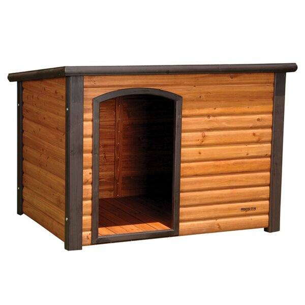 Outback Log Cabin Dog House by Petmate