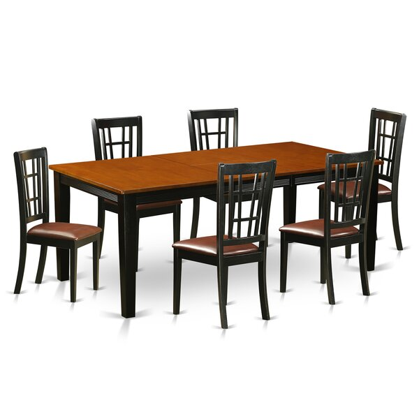 Pilger 7 Piece Extendable Dining Set by August Grove