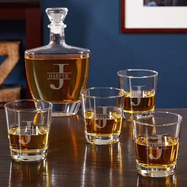 Personalized Oakmont 5 Piece Beverage Serving Set by Home Wet Bar