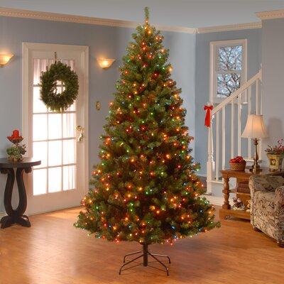 Wayfair Basics™ 6.5' Green Fir Artificial Christmas Tree with 300 ...