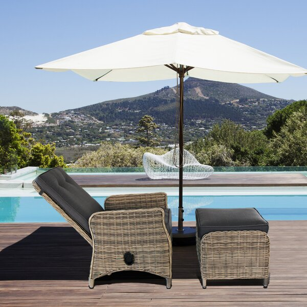 Modern Contemporary Outdoor Pool Patio Furniture Lounge Chair by Magari
