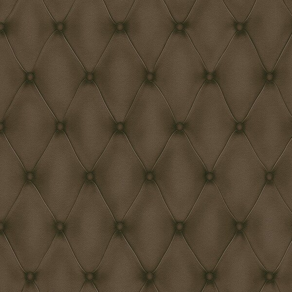 Tufted 32.97 x 20.8 Solid Wallpaper by Walls Republic