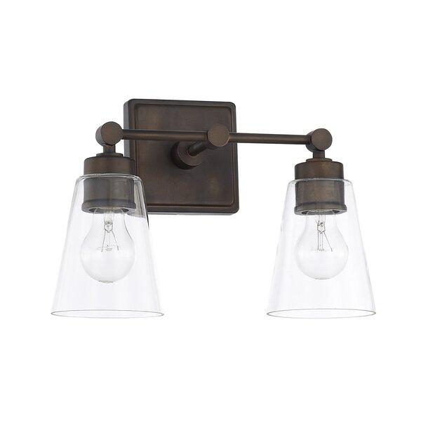 Gallego 2-Light Vanity Light by Three Posts