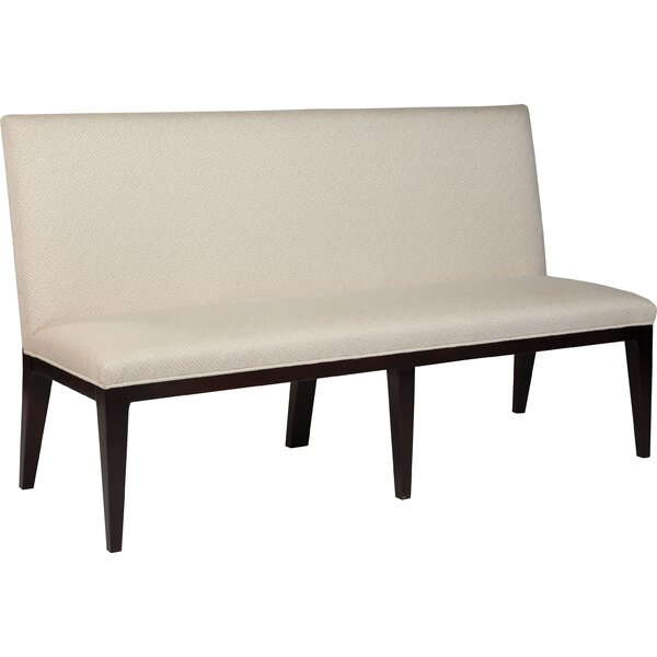 Upholstered Three Seat Bench by Fairfield Chair