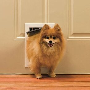 5-1/8 x 7-5/8 Small Aluminum Freedom Dog Door by PetSafe®