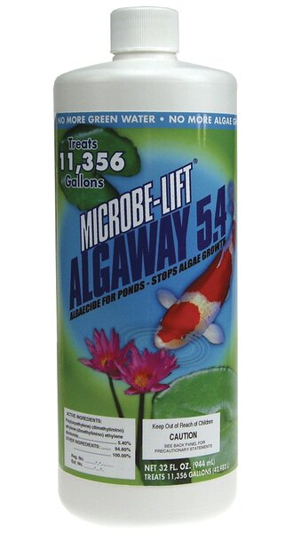 Microbe Lift Algaway 5.4 Algaecide by Ecological Laboratories