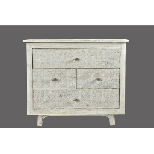 Endsley 4 Drawer Nightstand by Bungalow Rose