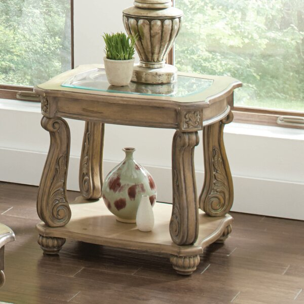 Holloway End Table By Astoria Grand
