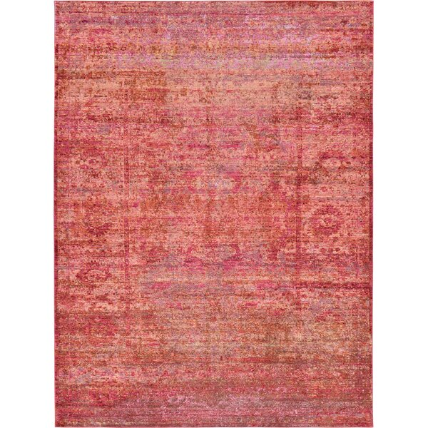 Danbury Red Area Rug by World Menagerie