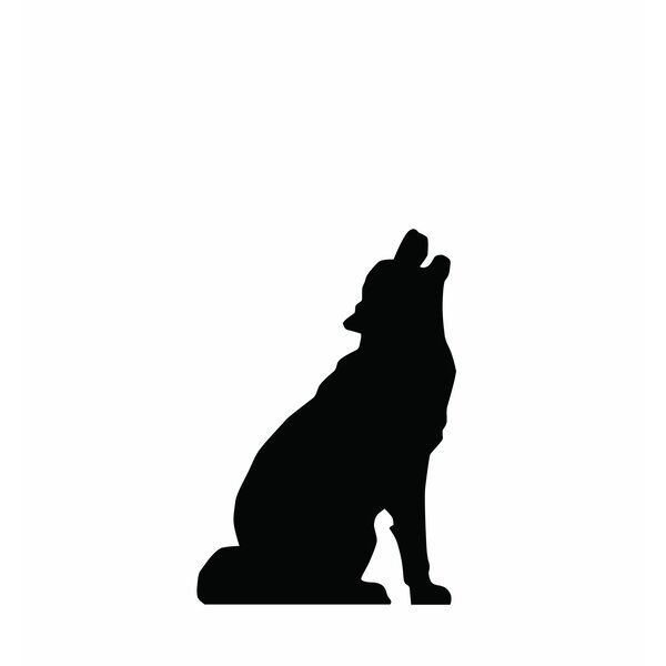 Howling Wolf Cardboard Silhouette by Advanced Graphics