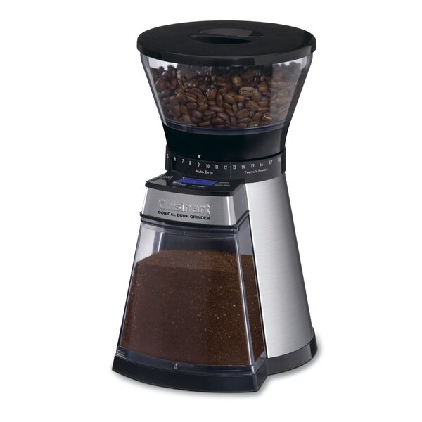 Programmable Conical Electric Burr Coffee Grinder by Cuisinart