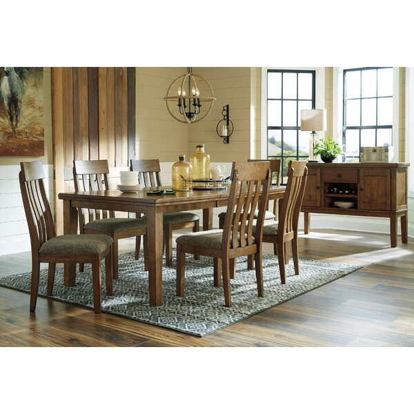 Fia 7 Piece Extendable Dining Set by Millwood Pines Millwood Pines