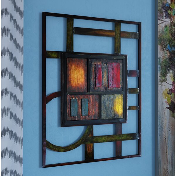 Abstract Metal Wall Décor by Bloomsbury Market