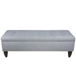 Keene Upholstered Storage Bench by Alcott Hill