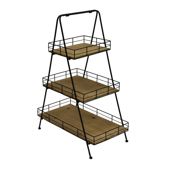 Allport 3 Layer Ladder Bookcase By Gracie Oaks