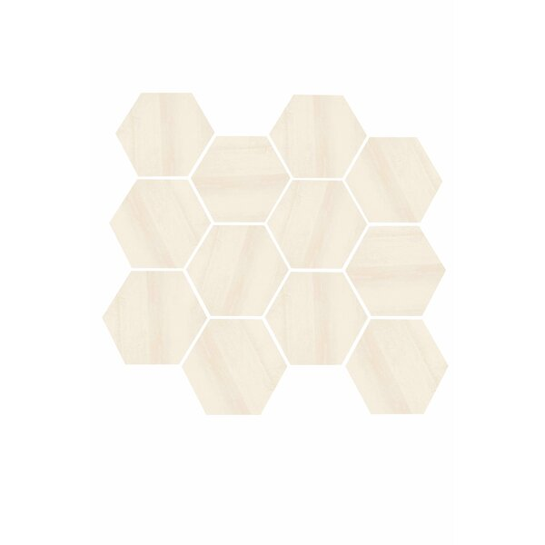 Burlington 3.25 x 3.25 Porcelain Field Tile in Beige by Madrid Ceramics