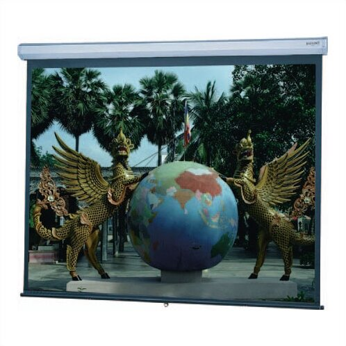 Model C Matte White Manual Projection Screen By Da-Lite