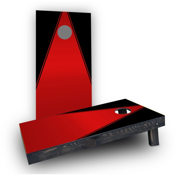 Triangles Cornhole Game Set by Custom Cornhole Boards