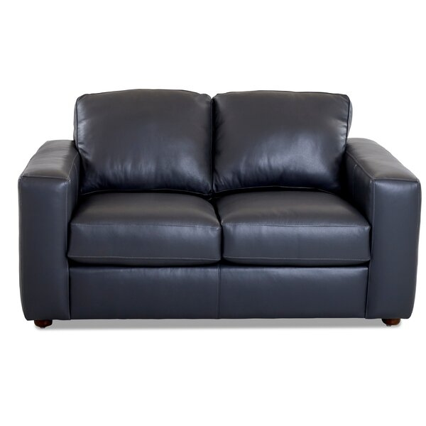 Lotte Leather Loveseat by Birch Lane™ Heritage