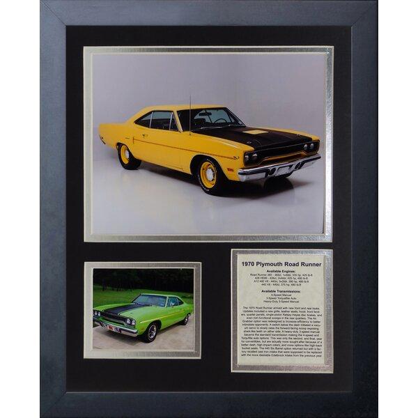 1970 Plymouth Road Runner Framed Memorabilia by Legends Never Die
