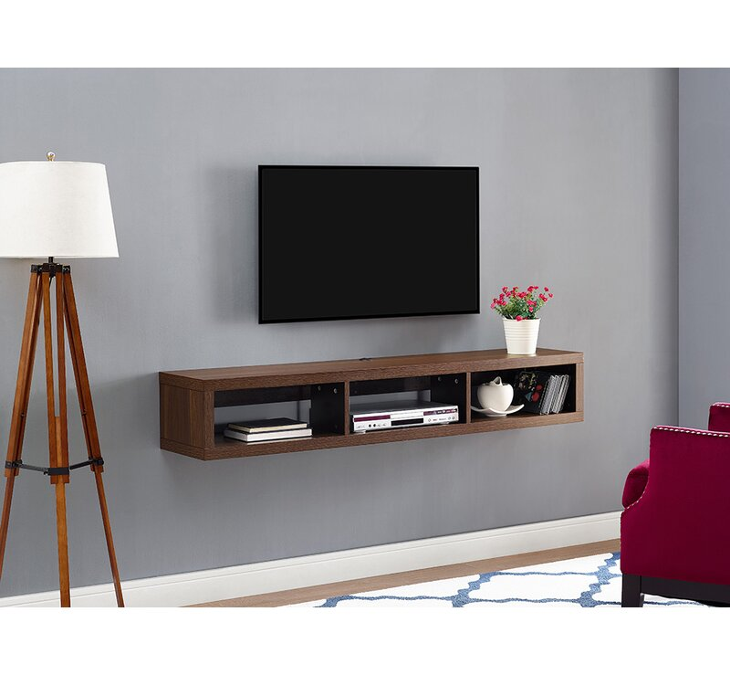 wall mount tv stand Shallow Wall Mounted TV Stand for TVs up to 60