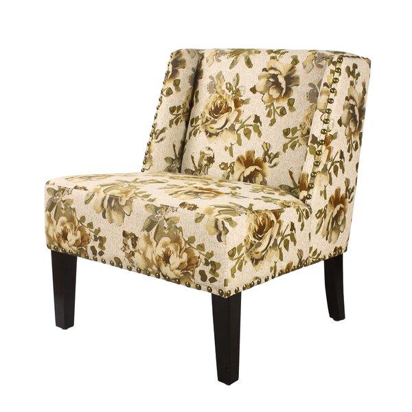 Bluff Slipper Chair by Alcott Hill