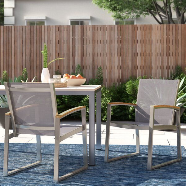Bruce Patio Dining Chair (Set of 2) by Foundstone