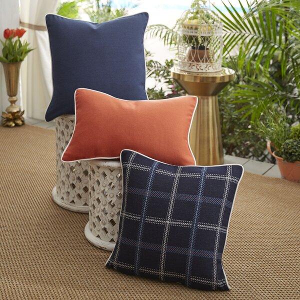 Midnight Tartan Indoor/Outdoor Pillow by Patina Vie