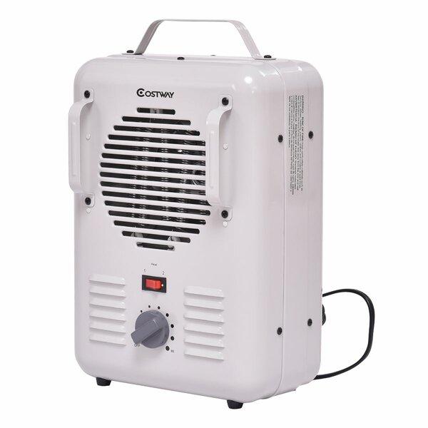 1,500 Watt Portable Electric Convection Utility Heater By Setemi