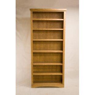 Currey 2 Shelf Traditional Standard Bookcase