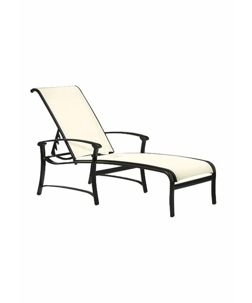 Ovation Reclining Chaise Lounge by Tropitone