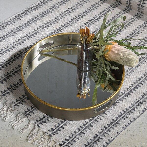 Theta Mirror Bottom Serving Tray by Brayden Studio